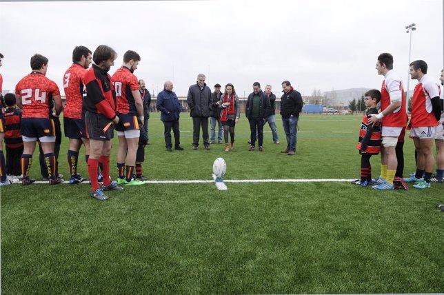 Inauguración campo de rugby