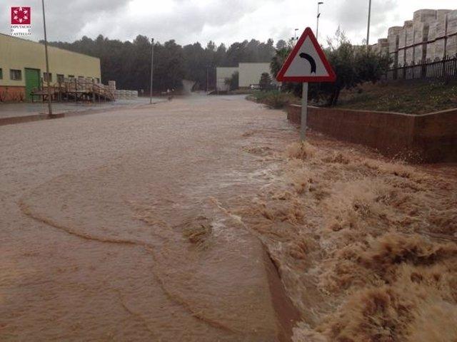 Una carretera de Castellón
