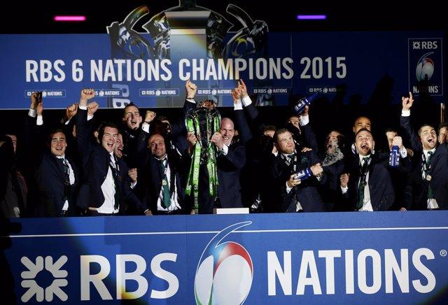 Irlanda revalida el título del Seis Naciones