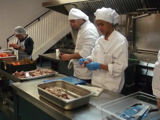 Curso de cocina del centro de formación del París 365