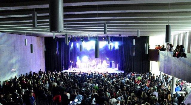 Imagen del concierto inaugural de Escenario Santander.