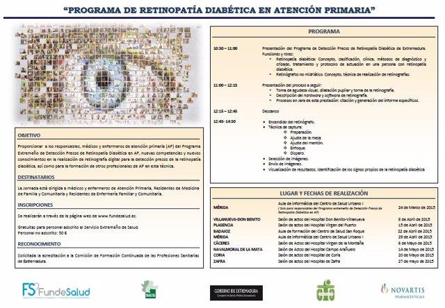 Díptico detección de retinopaía