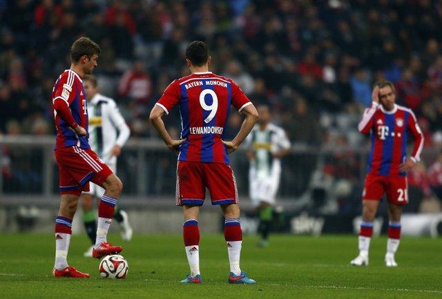 El Bayern cae en casa ante el M'gladbach
