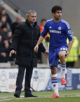 Diego Costa se lesiona con el Chelsea