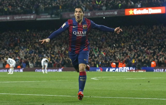 FC Barcelona-Real Madrid, Luis Suárez