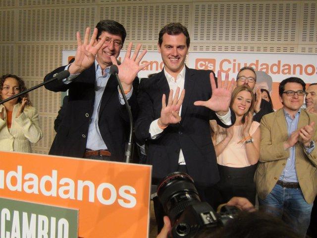 Marín y Rivera, tras el resultado electoral