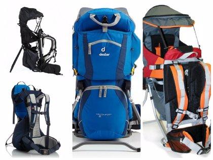Cuatro mochilas portabebés para montaña que te encantarán