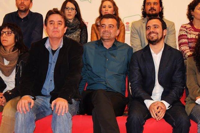 El candidato de IU a la Comunidad de Madrid, Luis García Montero.