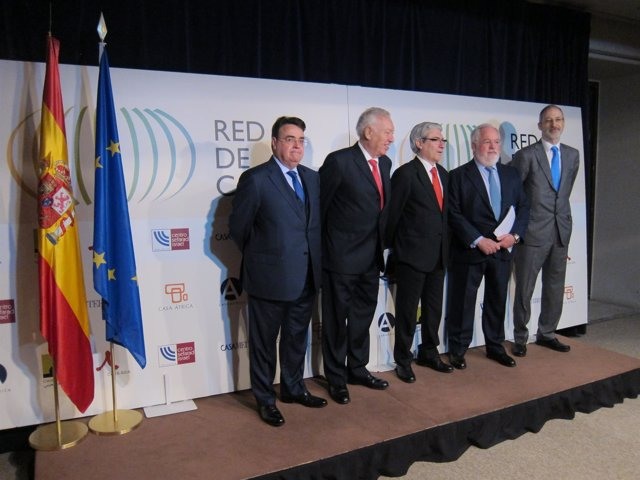 Arias Cañete, García Margallo y Llardén
