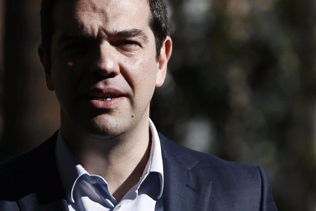 Primer Ministro griego, Alexis Tsipras