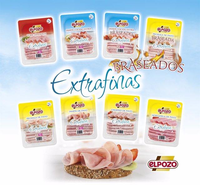 Extrafinas, nueva gama de loncheados de ElPozo