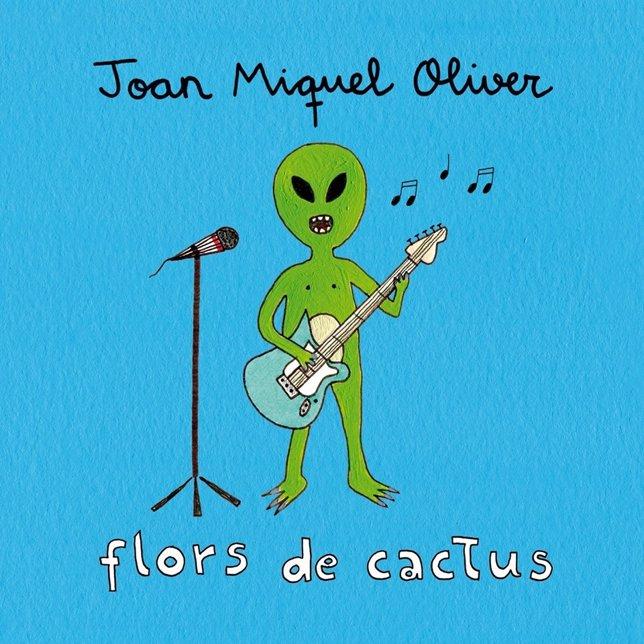 Imagen promocional del single 'Flors de cactus', de Joan Miquel Oliver