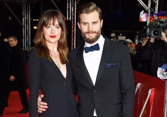 Dakota Johnson y Jamie Dornan estreno 50 sombras de Grey, Berlinale