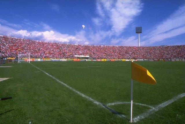 Estadio Nacional de Santiago de Chile, una de las sedes. Getty Images