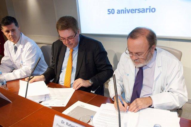 Acuerdo entre la Paz y Siemens