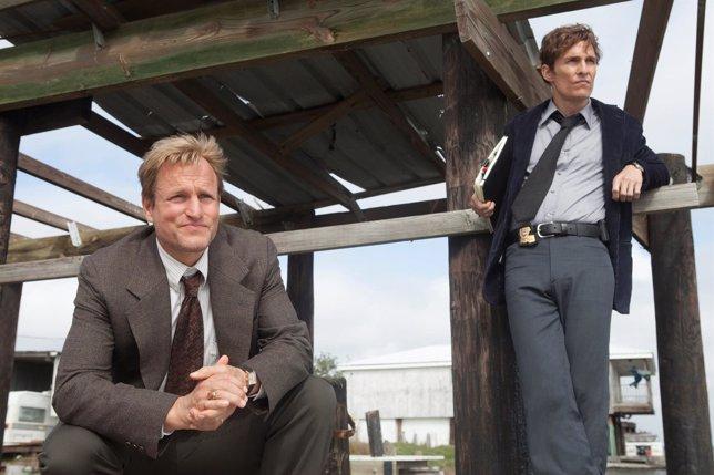 Fotograma de la primera temporada de True Detective con Mathew McConaughey