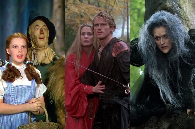 El Mago de Oz, La princesa prometida e Into the woods