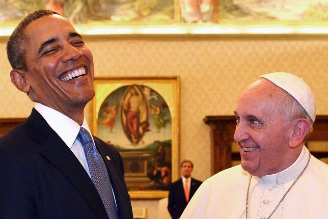 El Papa Francisco y Barack Obama