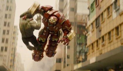 Vengadores: La era de Ultrón: Más Hulk vs. Hulkbuster en el nuevo clip