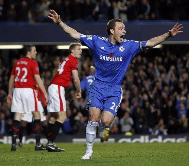 El Chelsea se impuso al Manchester United con gol de Terry