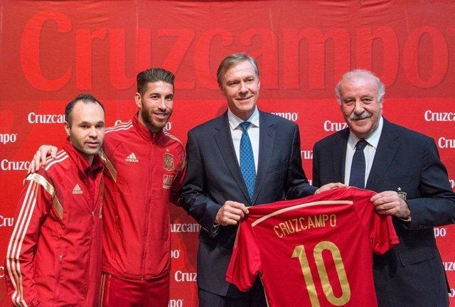 Cruzcampo y selección española