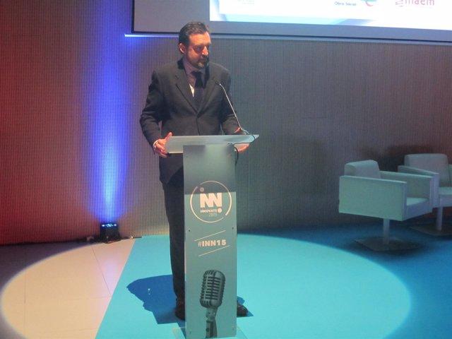 El director gerente del INAEM, Jorge Escario.