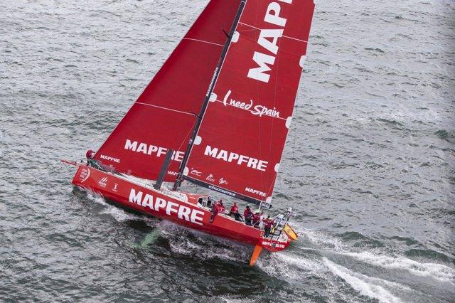 El Mapfre en la Volvo Ocean Race