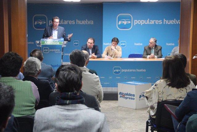 Junta directiva del PP de Huelva.