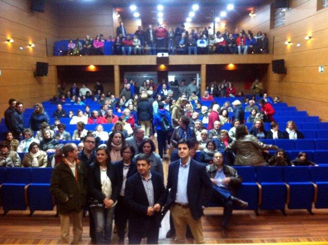 Inauguración del nuevo espacio escénico de Ibros, en Jaén