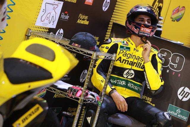 El piloto español de Moto2 Luis Salom