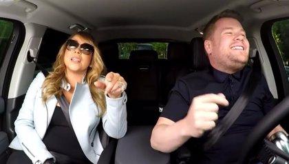 Vídeo: Mariah Carey improvisa un karaoke en un coche cantando sus propias canciones