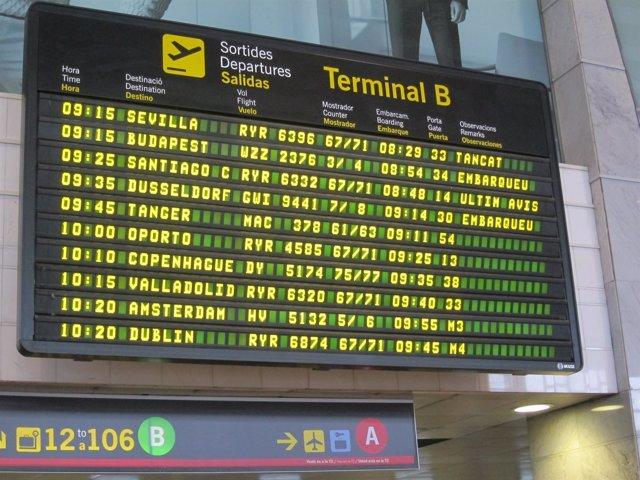 Vuelo de Germanwings hacia Düsseldorf el día después del accidente
