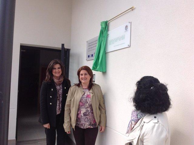 Caballero y Chinchilla inauguran la nueva sede del CPR Santa María de la Peña.