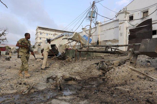 Ataque hotel somalia