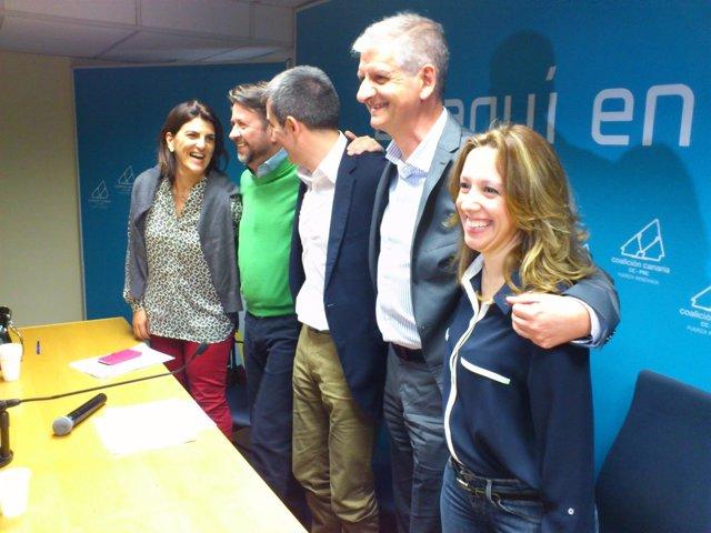 Elección de candidatos de CC al Parlamento y al Cabildo
