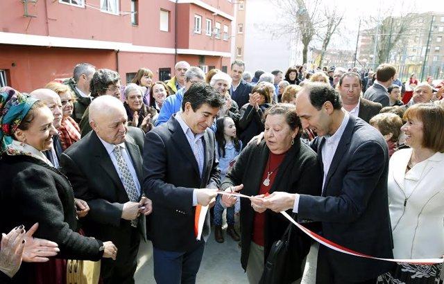 Inauguración del centro cívico de Boo de Guarnizo