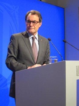 Presidente de la Generalitat, Artur Mas (Archivo)