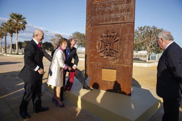 El alcalde inaugura el monumento