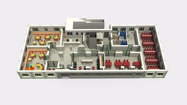 Nuevo centro cultural en las antiguas oficinas de Cros
