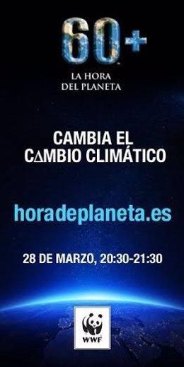 Cartel de la Hora del Planeta