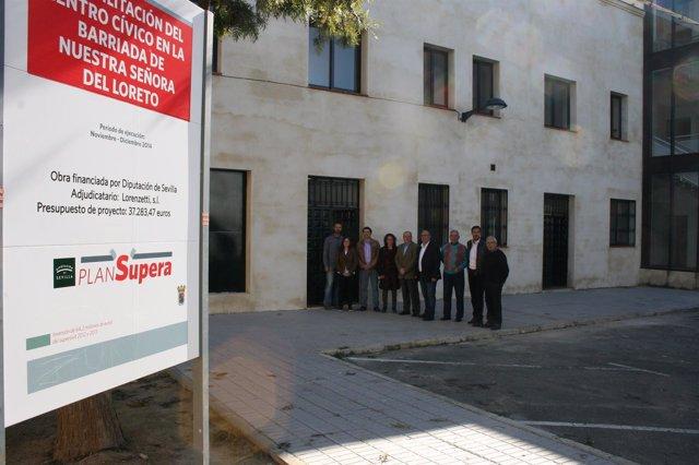 Reformas en San Juan de Aznalfarache dentro del marco del Plan Supera