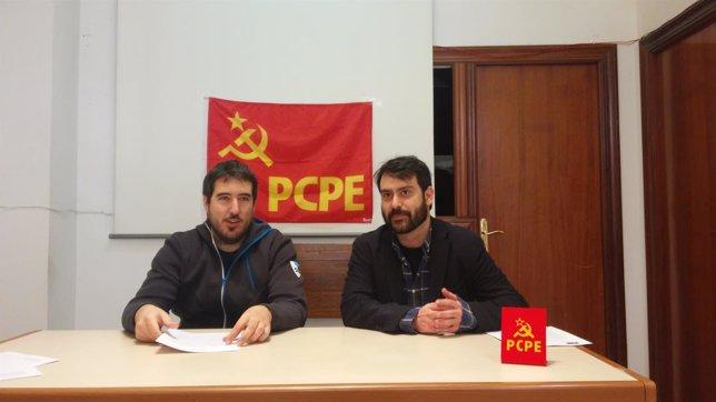 Presentación candidatos PCPE