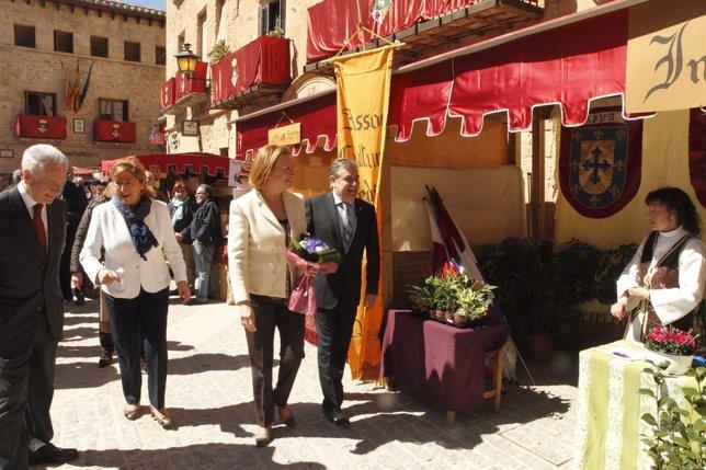 Rudi visita la XVI Feria del Vino de Cretas.