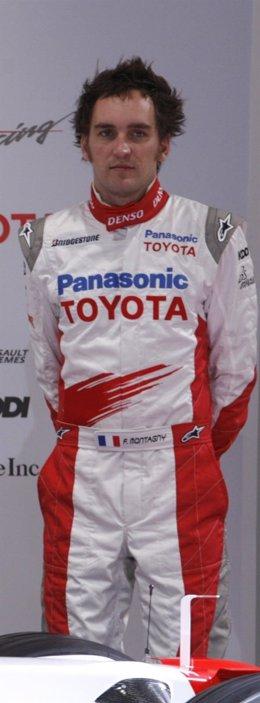El piloto francés Franck Montagny