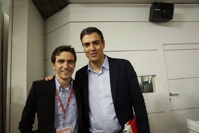 Pedro Casares y Pedro Sánchez