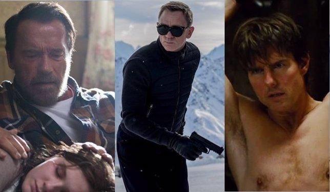 Misión Imposible 5: Nación Secreta, James Bond: Spectre y Maggie