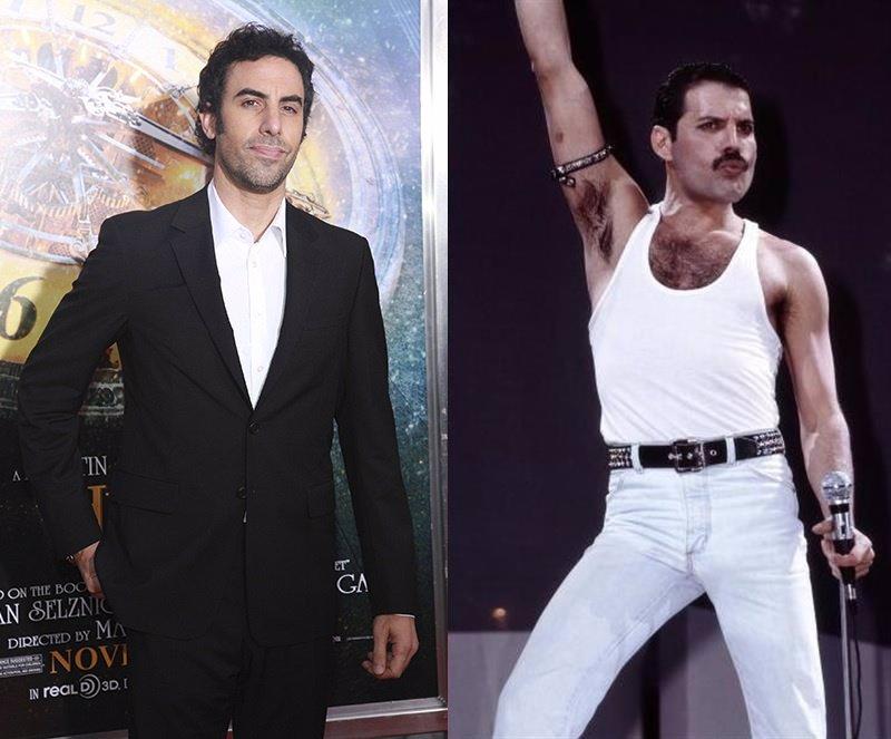 Sacha Baron Cohen no volverá al biopic de Freddie Mercury