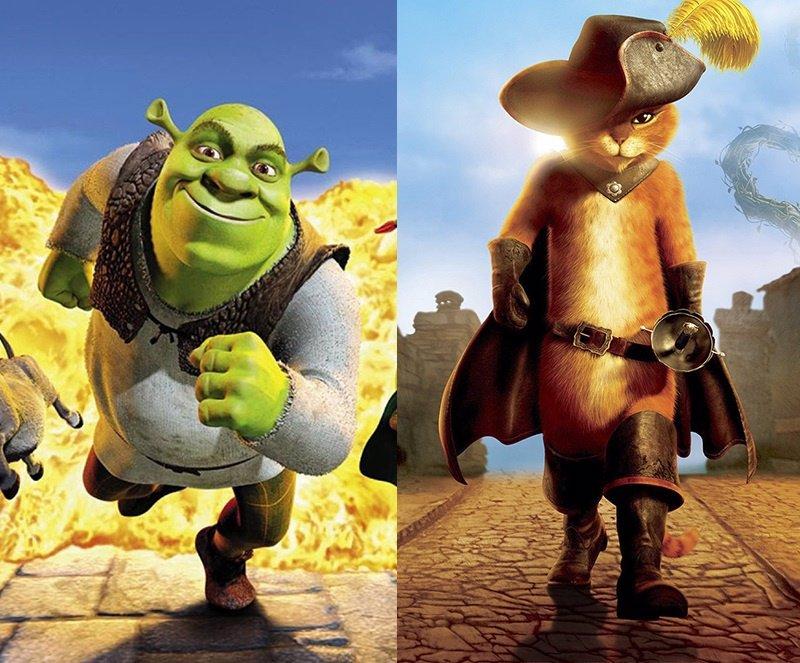 Antonio Banderas quiere a Shrek en El gato con botas 2
