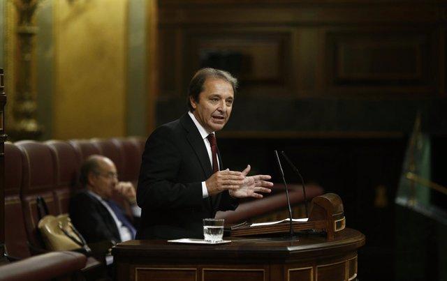 Juan Luis Gordo, diputado del PSOE por Segovia
