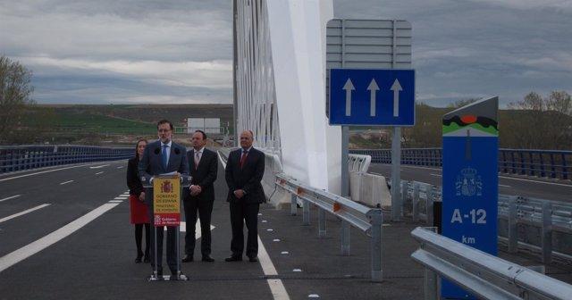 Rajoy inaugura Conexión Autovía del Camino